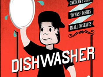 The book cover for Dishwasher