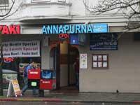 Front of Annapurna Cafe