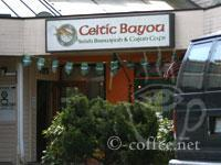 Front of Celtic Bayou
