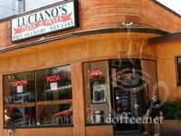 Front of Luciano's Pizza and Pasta