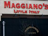 Front of Maggiano's Little Italy