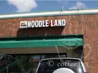 Front of Noodle land