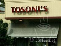 Front of Tosoni's Restaurant