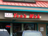 Front of Yea's Wok