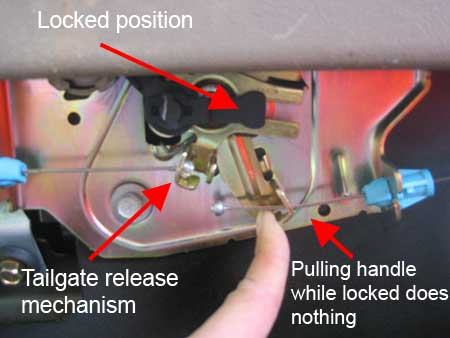 Suburban Rear Liftgate Won T Unlock How To Fix Chef