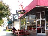 Front of Red Mill Burgers